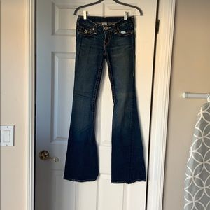 Wranglers Jeans Q Baby Size 34 32 Length Pre Owned Poshmark